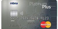 MBNA Platinum Plus Mastercard review
