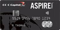 Capital One Aspire Mastercard