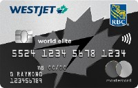 Westjet RBC World Elite Mastercard RBC